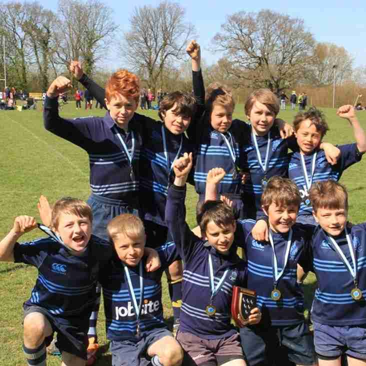 Under 9s are Sussex Champions!