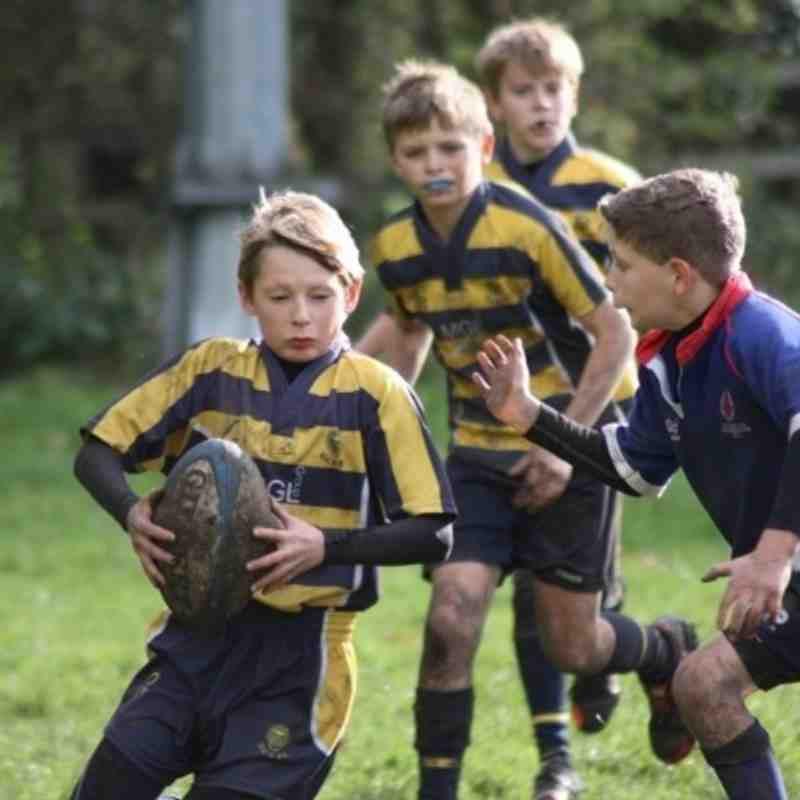 U11s Home to Darlington Mowden Park 27Oct2013