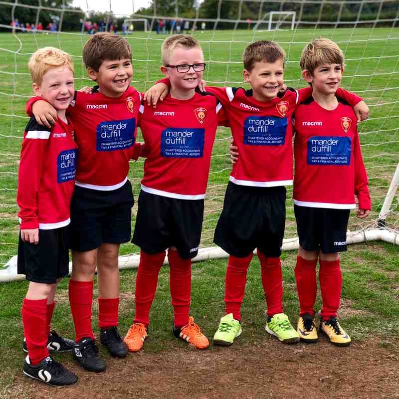 Corsham Tigers U7 18/19 Season