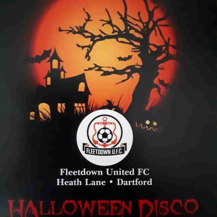 Halloween Disco - 27th October