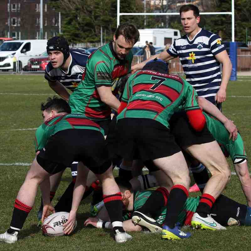 Glasgow Accies v 1st XV 24-03-2018