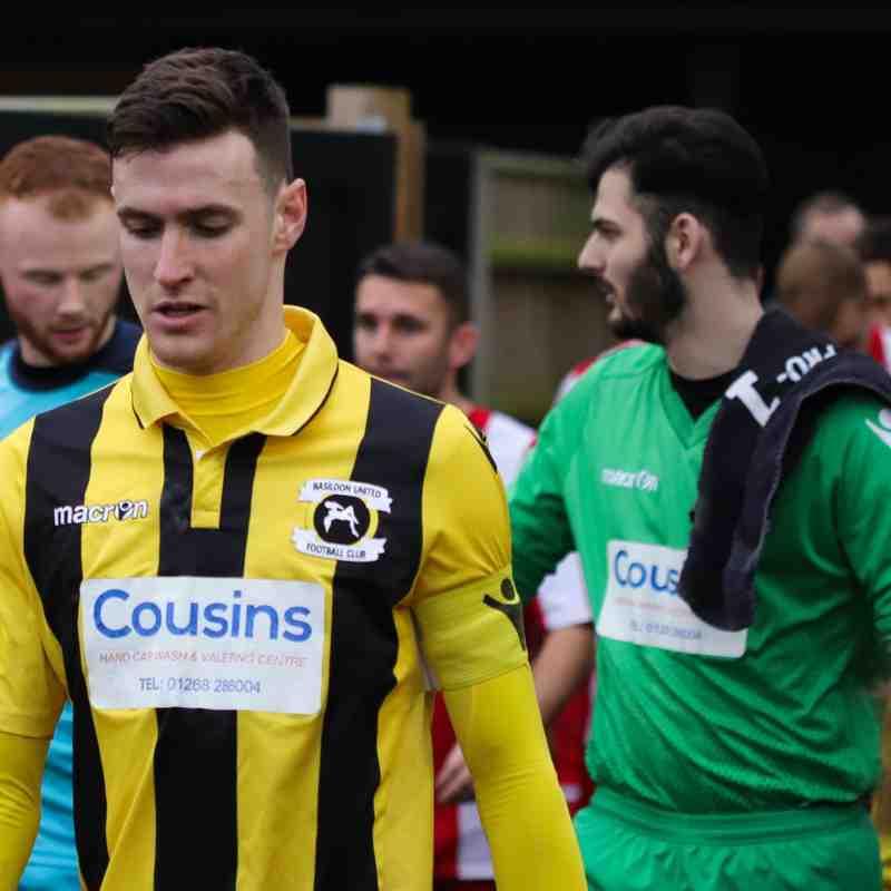 Felixstowe & Walton United 2-0 Basildon United (29-12-2019)