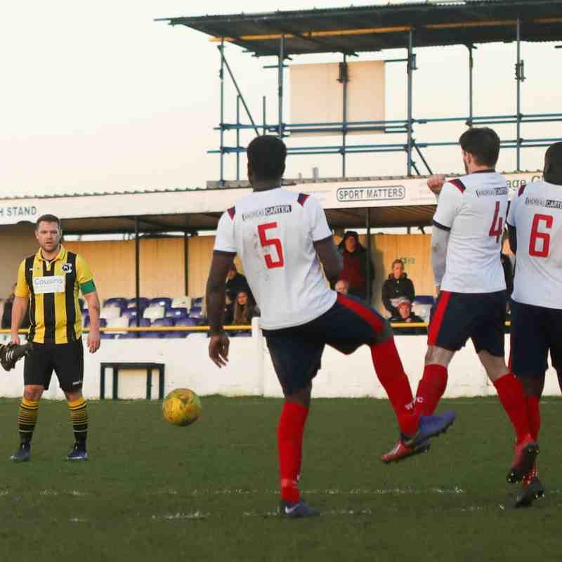 Witham Town 1-0 Basildon United FC