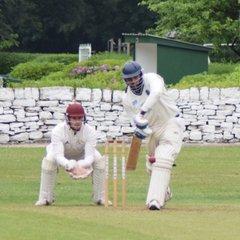 Holmfirth first team versus Almondbury Wes