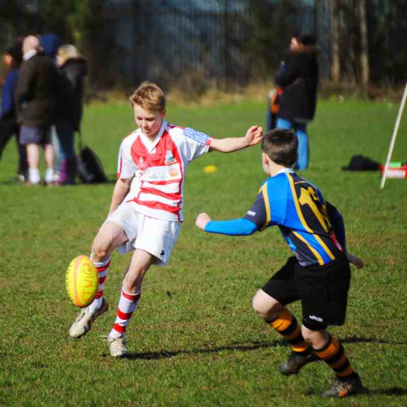 U12s v West Park, Otley & Yarnbury (A)