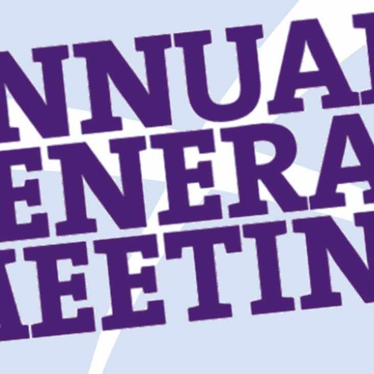 CALLING NOTICE - Annual General Meeting - Saturday 6th July 2019