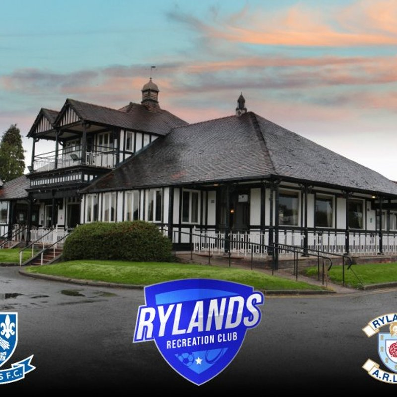 Rylands Recreation Club Announcement...