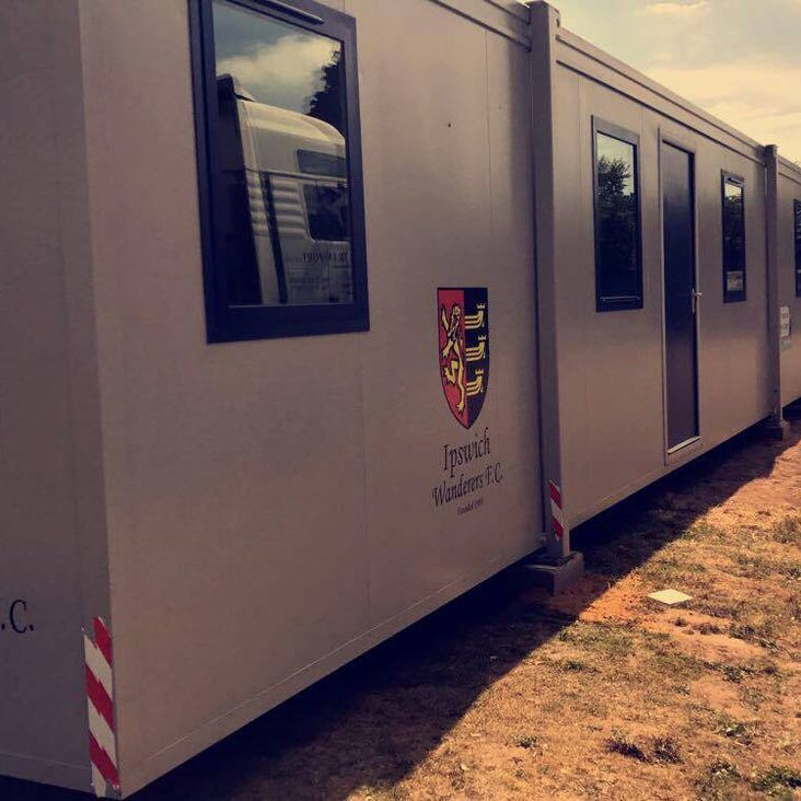 New classrooms arrived<