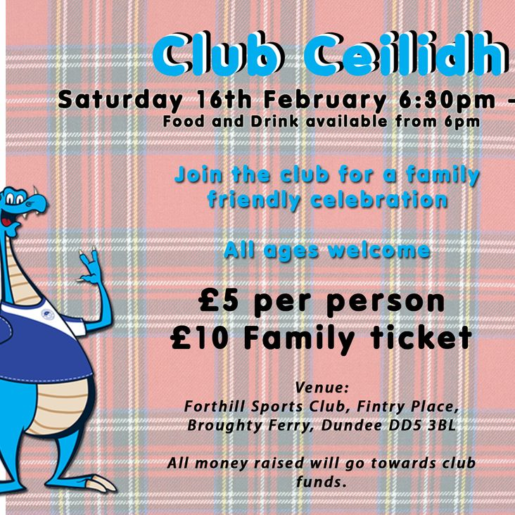 Club Ceilidh at Forthill<