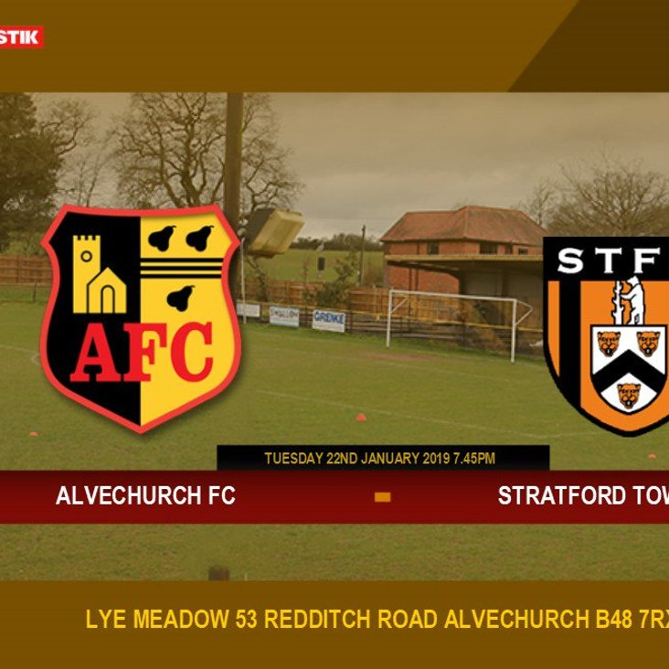 Short trip to Alvechurch tonight for our 6th meeting of the season KO 7.45pm<