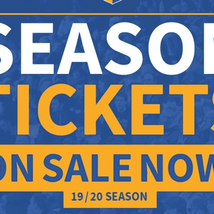 Season Tickets now available including early bird offer ends July 20th