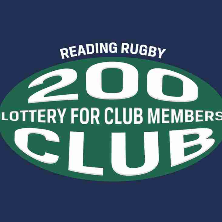 200 Club Newsletter August
