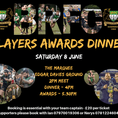 Senior Players Awards Dinner