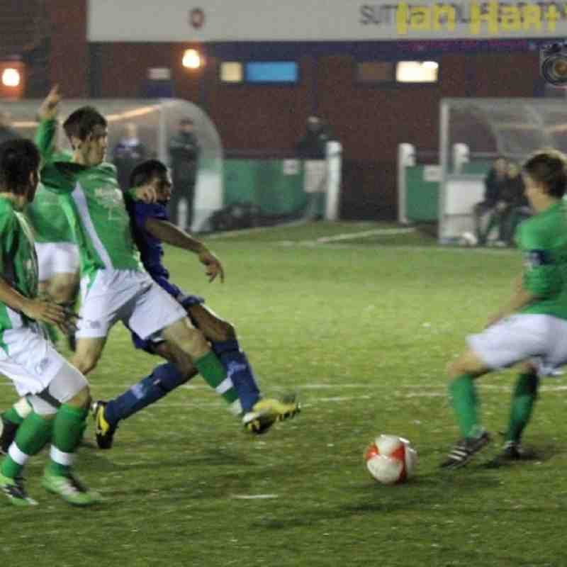WALSALL CUP - SCT FC vs Brocton FC - 08/11/11