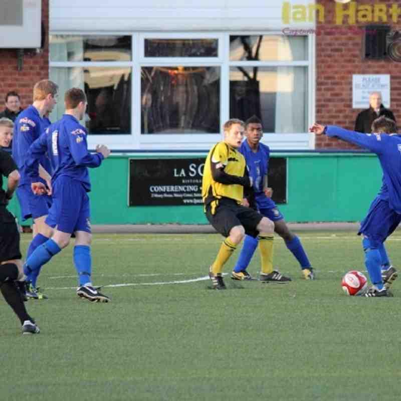 SCT FC vs Hucknall Town - 03/12/11