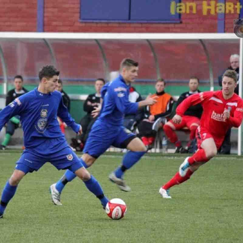 SCT FC vs Market Drayton - 17/12/11