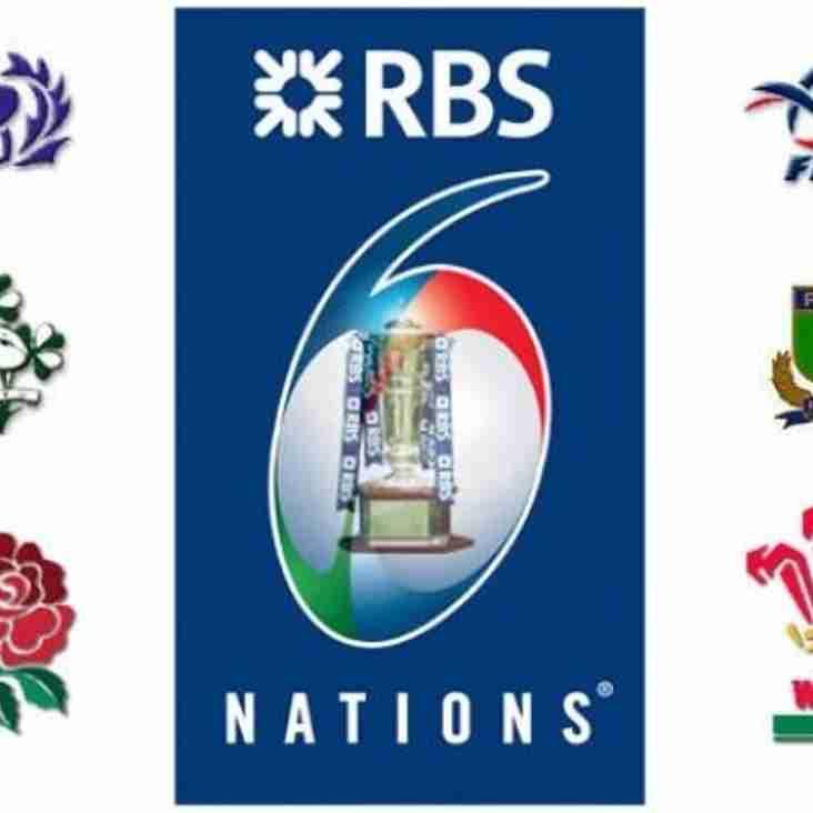 6 Nations Trophy at Twickenham...