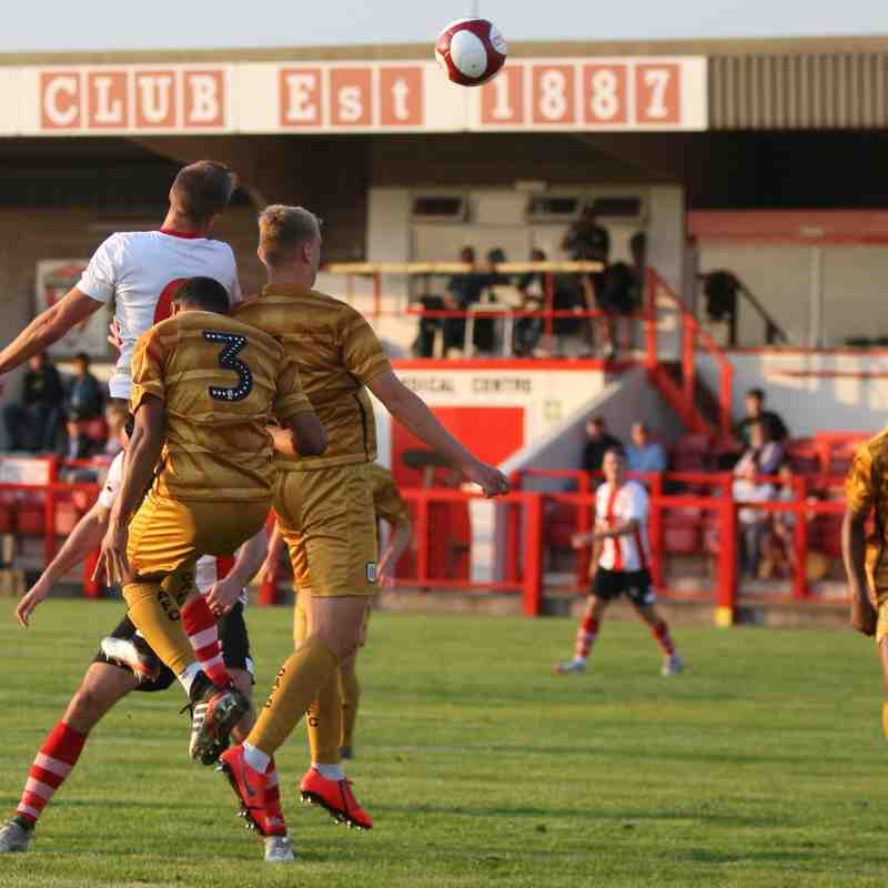Witton v Crewe Alex 16/7/19 by Keith Clayton