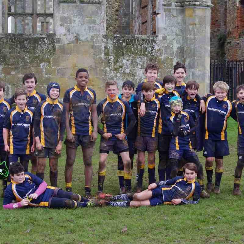 Midhurst RFC U13's v Crawley RFC U13's