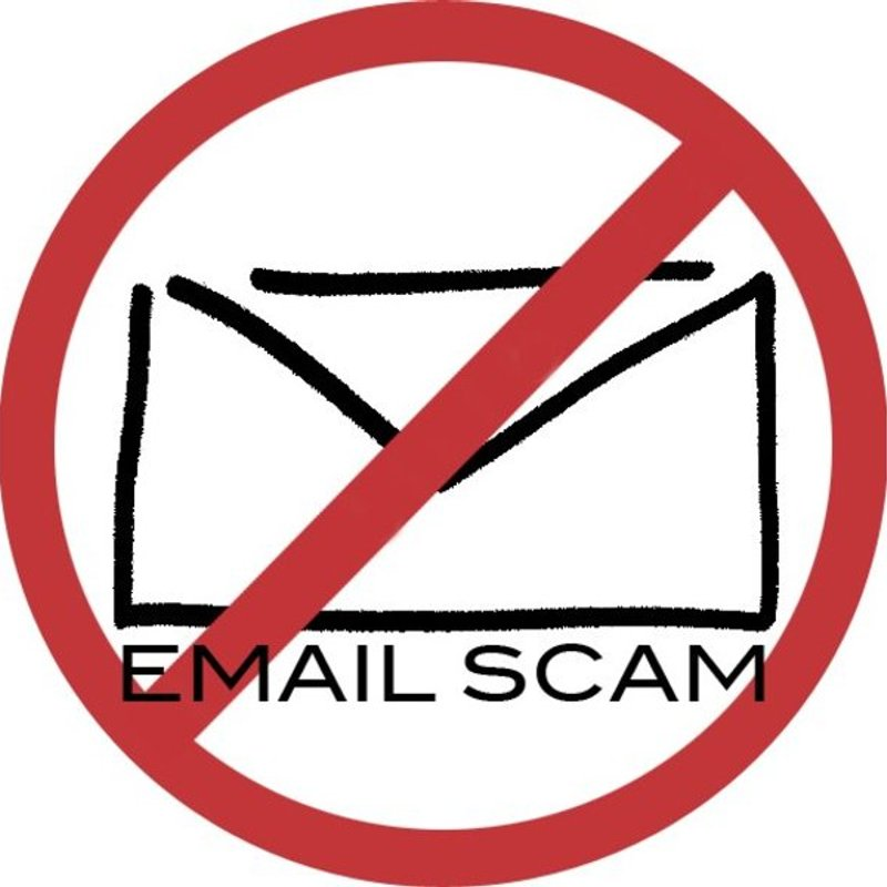 **Warning - email scam**