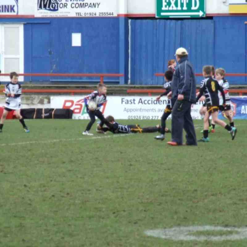 Under 10's Dearne Valley Bulldogs @ Wakefield Wildcats - Club photos