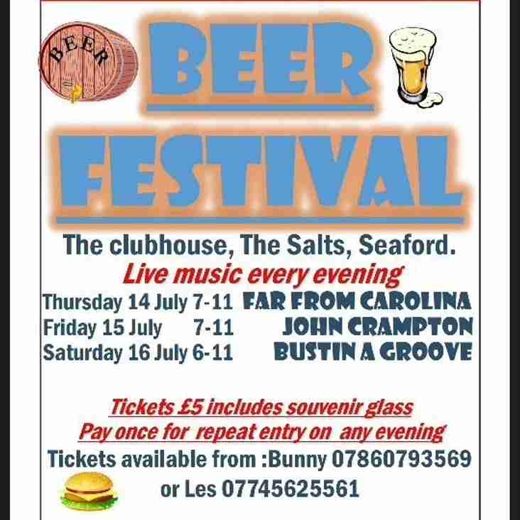Seaford RFC Beer Festival 2016