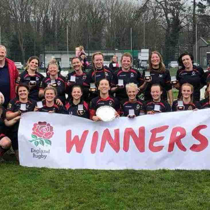 Seaford Ladies Win RFU Women's Plate Final - Sunday 8th April 2018