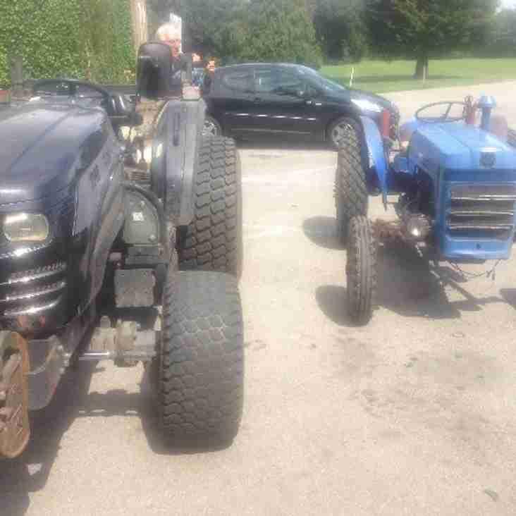 Club Acquires New Tractor & Vertidrainer