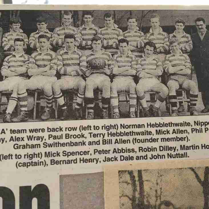 60th Anniversary of West Park Old Boys 2nd team