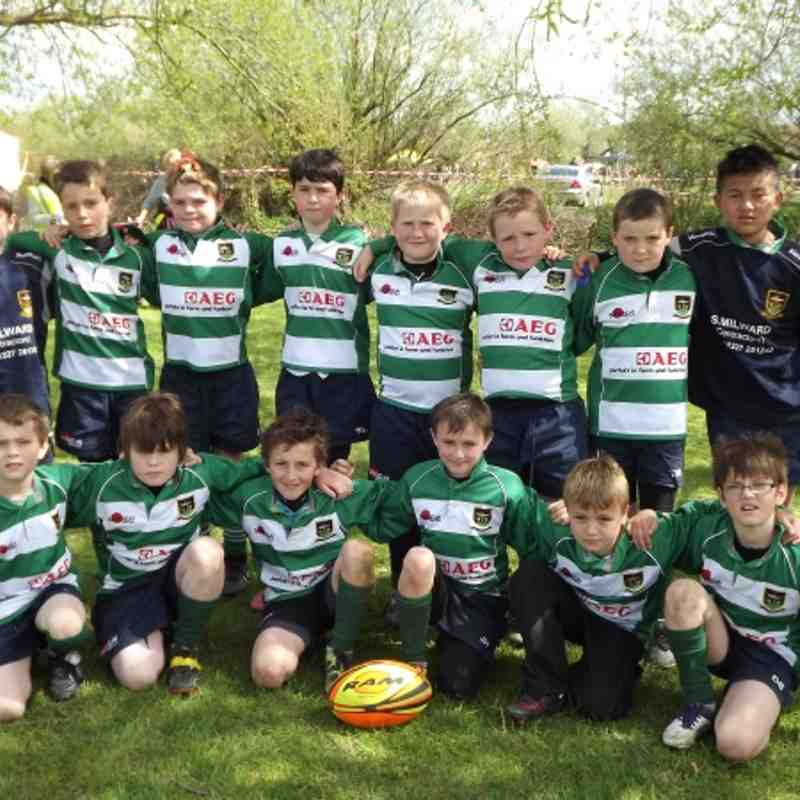 FRFC Under 10s at Kent Mini Finals 2012