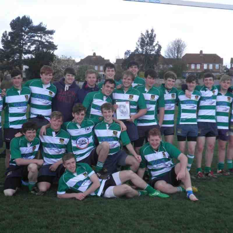 FRFC Under 17s - East Kent Cup Winners 2012