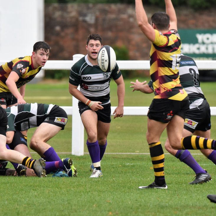 1st XV coach to Consett this Saturday - 15th December<