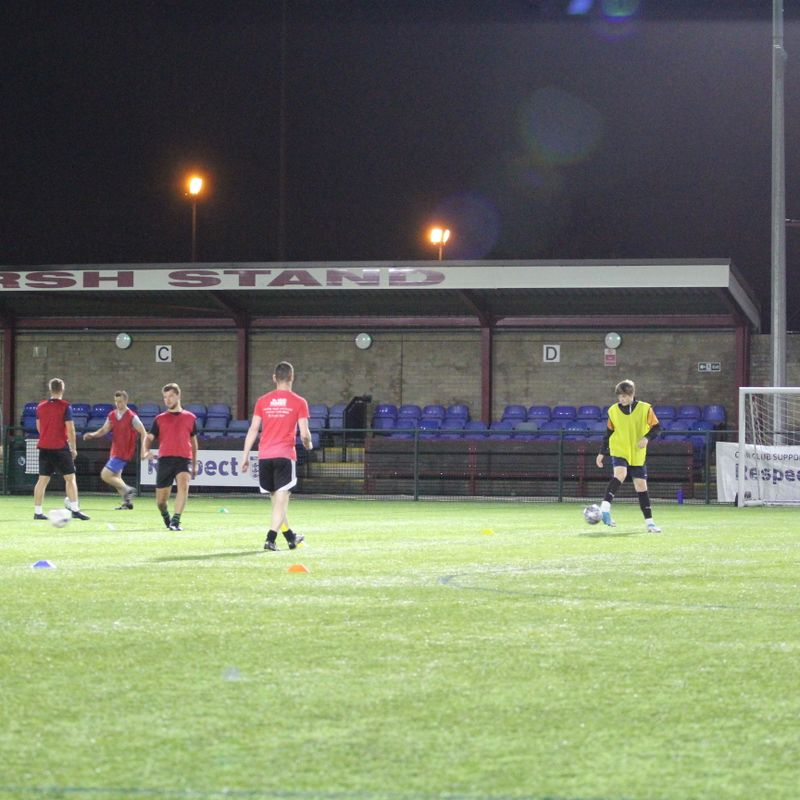 Pre-season training begins