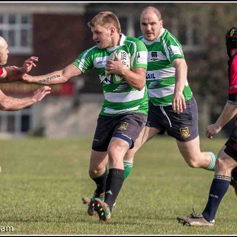 2nd XV vs Ashford Barbarians