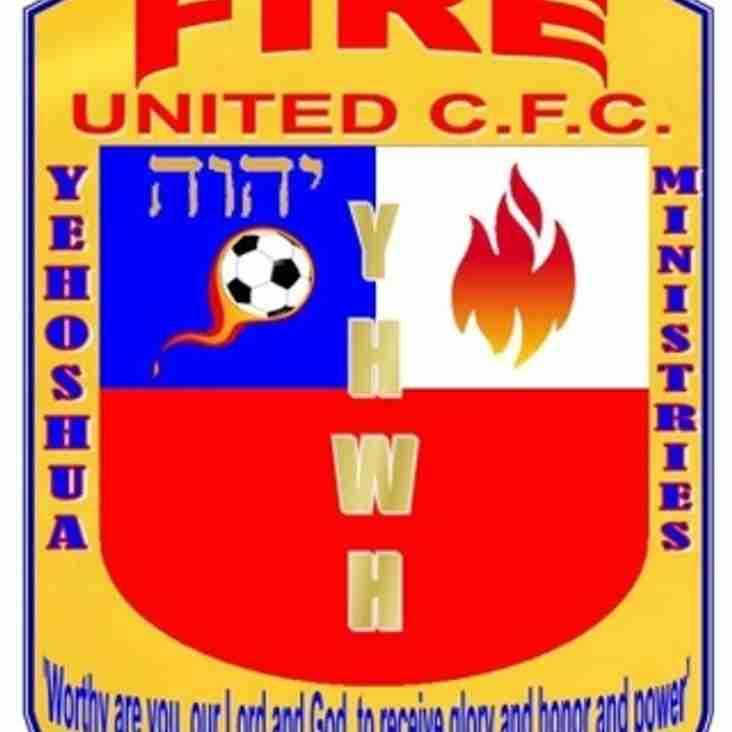 FIRE UNITED [A] RESCHEDULED