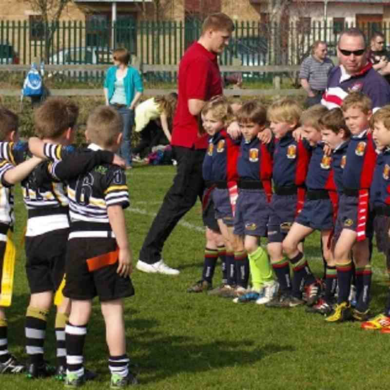 NOSRFC U7's Red @ Saints Festival 2012