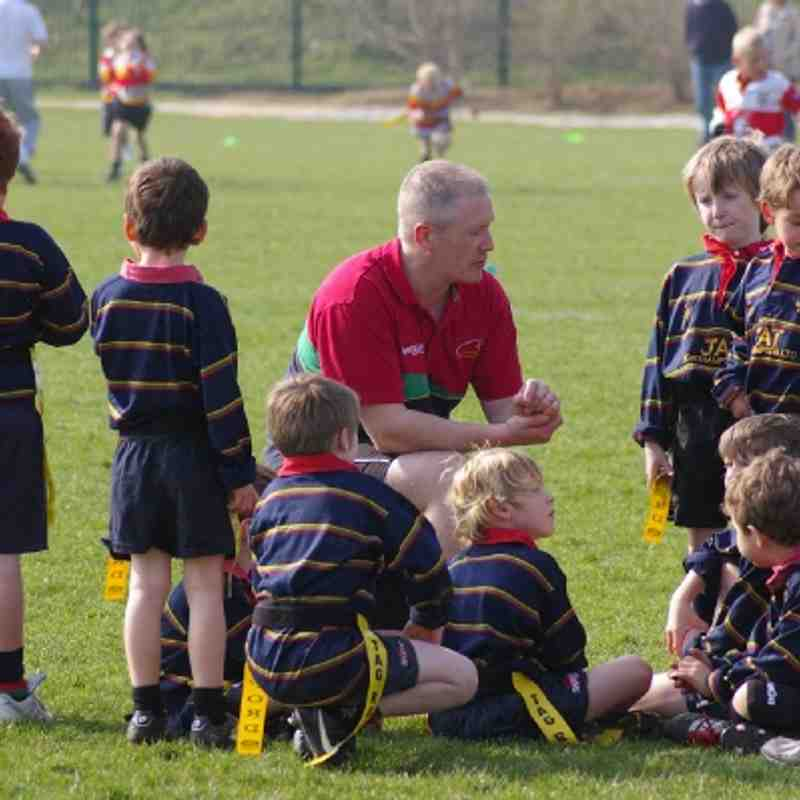NOSRFC U7's Blue @ Saints Festival 2012