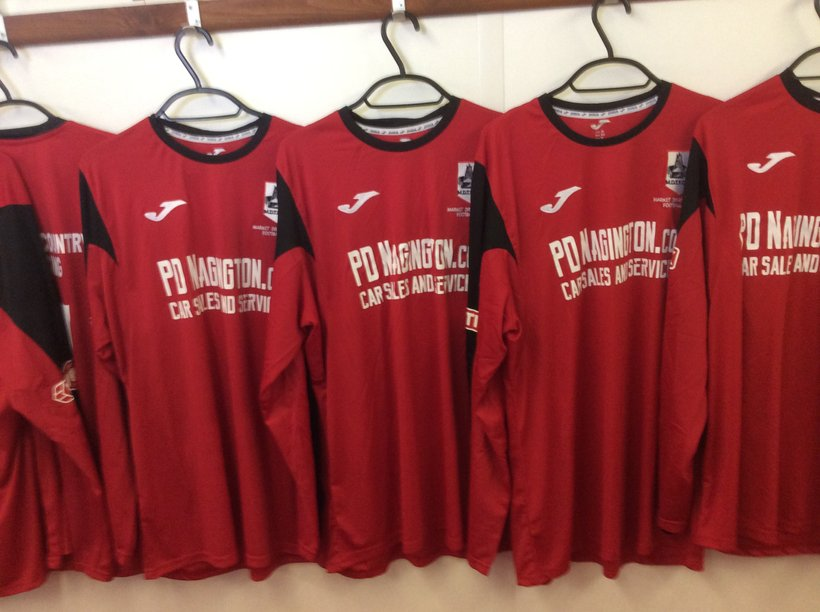 The New First Team Strip Is Ready For Tomorrow's Game v AFC Telford United