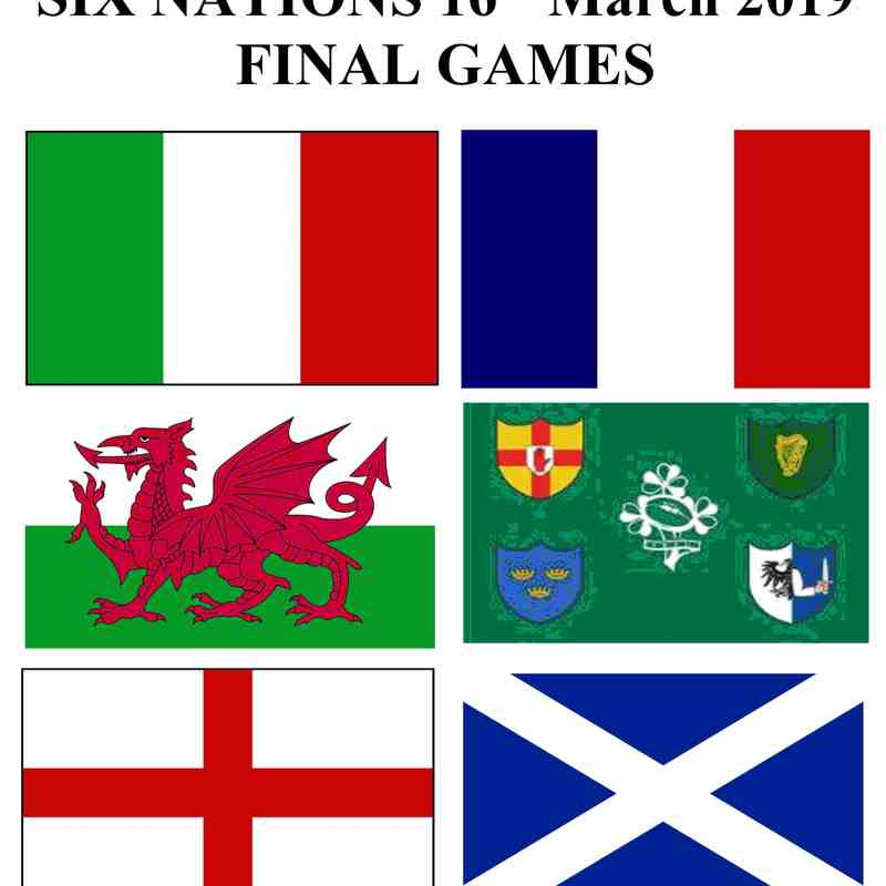 2019 Final Six Nations Day