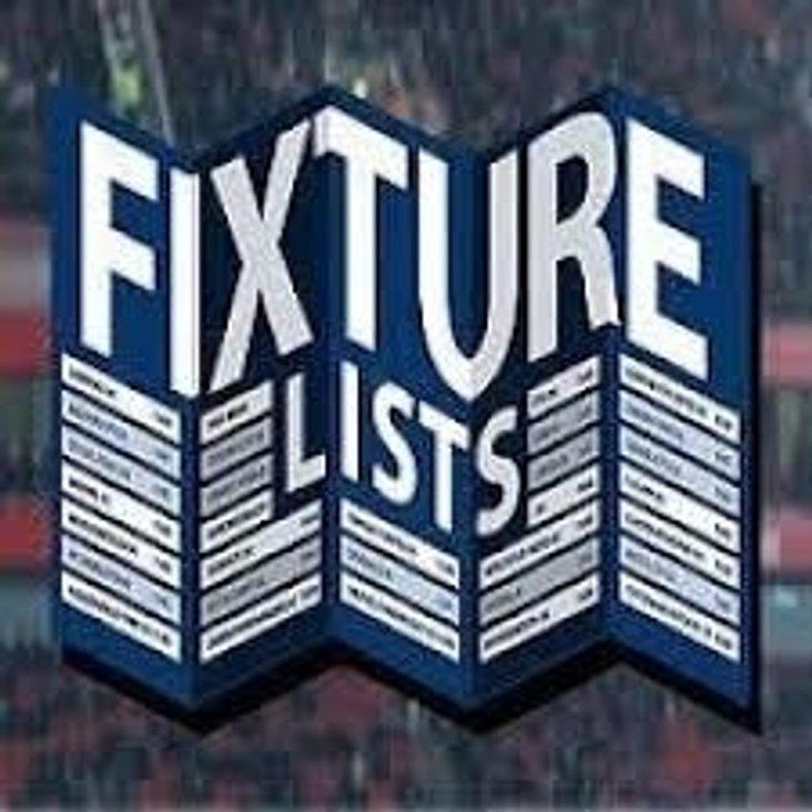 Pre-Season Fixtures...!!!<
