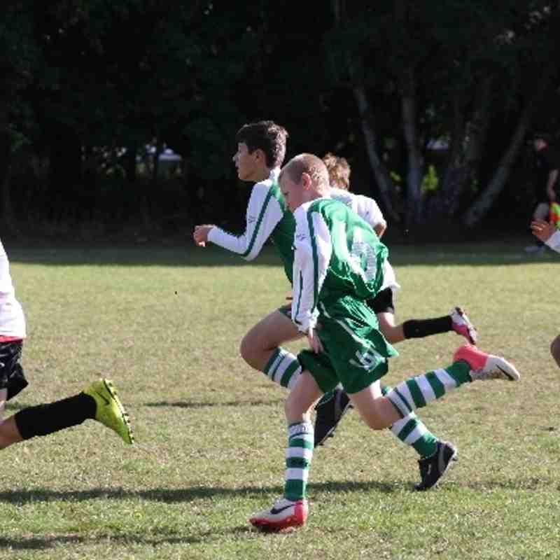 Bracknell Rovers FC U13 vs Henley Hotspur FC 07/09/2013