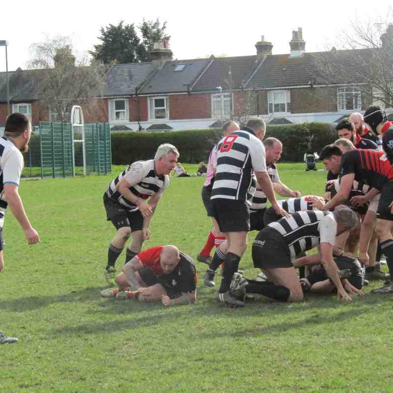 Saturday 7th April - 3rd XV vs Ashford Barbarians