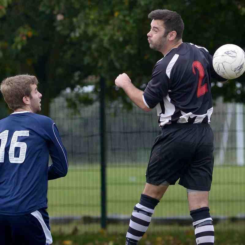 """A"" team v Woodcote Stoke Reserves - 18 Ocotber 2014"