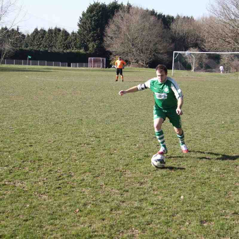 Berks County Res 2-0 Baughurst AFC Res - 7th March 2015