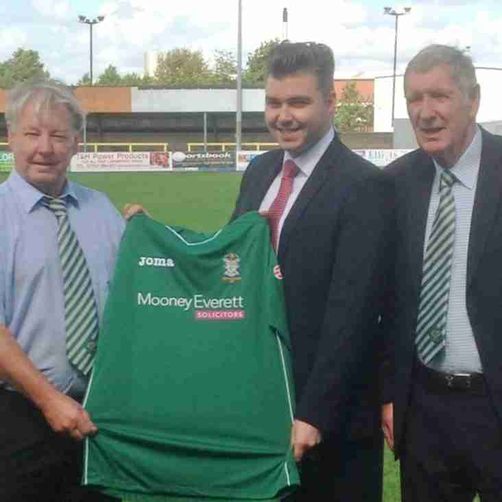 Legal eagles unveiled as new shirt sponsors