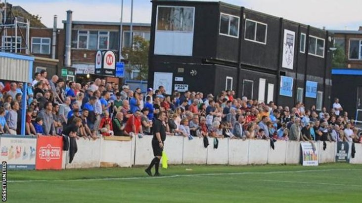 Midweek massive: More than 500 fans turned out for United's first league game
