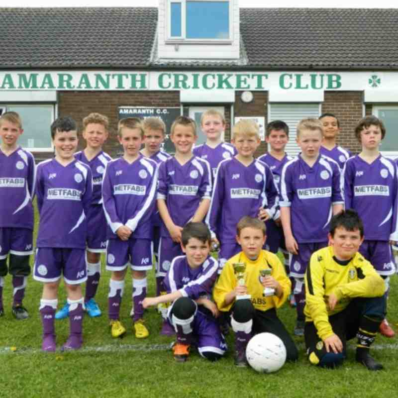 Last Game Of Season Photo's U10's 2012/13