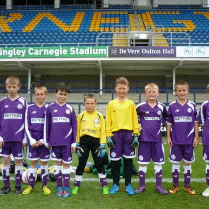 Garry Chappelow Memorial Fund Childrens Day u10's 9th June 2013 Headingley Stadium