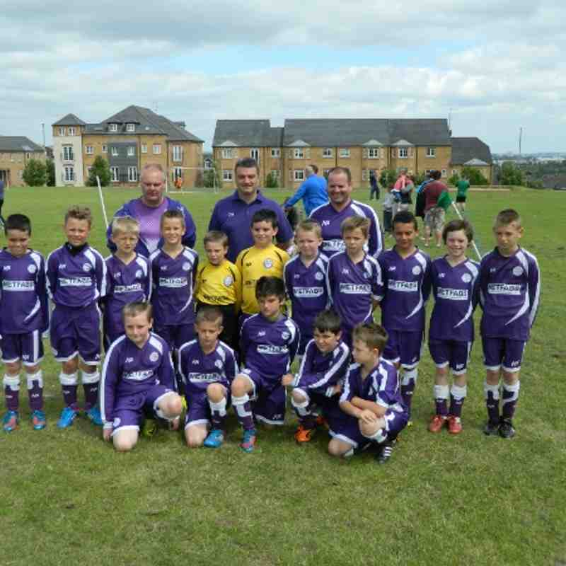 Pudsey U10's Gala 30th June 2013