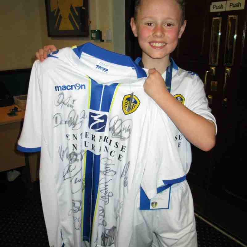 Brandon Leeds United mascot 29th March 2014